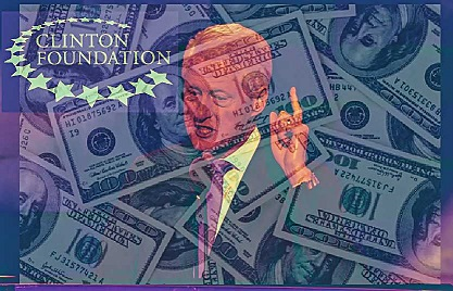 Clinton Foundation dark money and corruption CROPPED