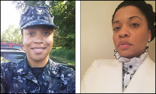 Petty Officer 2nd Class Janaye Ervin (Photo: Facebook Snapshot)