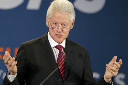 'Sex slave' claims Bill Clinton visited Epstein's 'orgyisland'