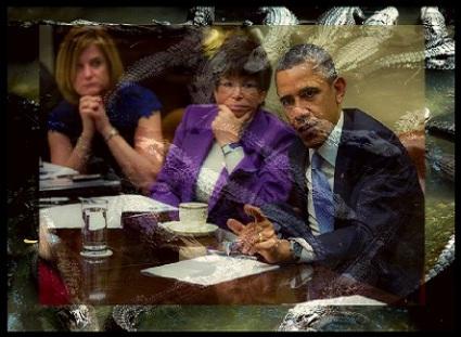 barack-obamas-white-house-swamp-and-alligator-pit-by-pixabay-public-domain-obama-administration-framed-443-x-325